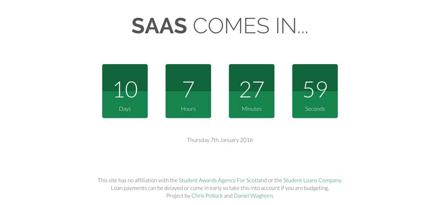 When Does Saas Come In?